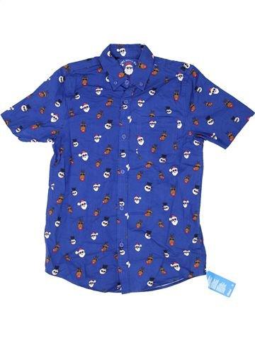Camisa de manga corta niño PRIMARK azul 12 años verano #1459315_1