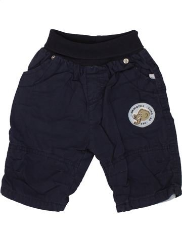 Pantalón niño OKAY azul oscuro 3 meses invierno #1459367_1