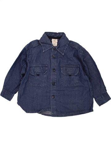 Camisa de manga larga niño FORMICULA azul 18 meses invierno #1459370_1