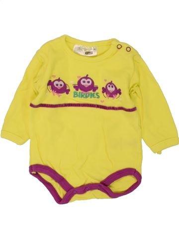 T-shirt manches longues fille ERGEE jaune 1 mois hiver #1459374_1