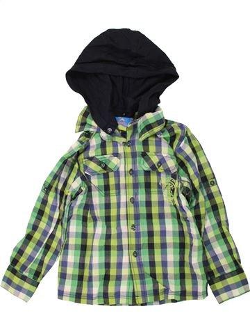 Chemise manches longues garçon TOPOLINO vert 6 ans hiver #1459483_1