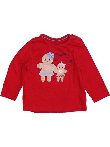 Camiseta de manga larga niña MOTHERCARE rojo 6 meses invierno #1459559_1