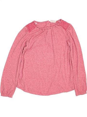 T-shirt manches longues fille NEXT rose 9 ans hiver #1459625_1