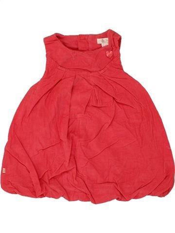 Robe fille OKAIDI rouge 3 mois hiver #1459941_1