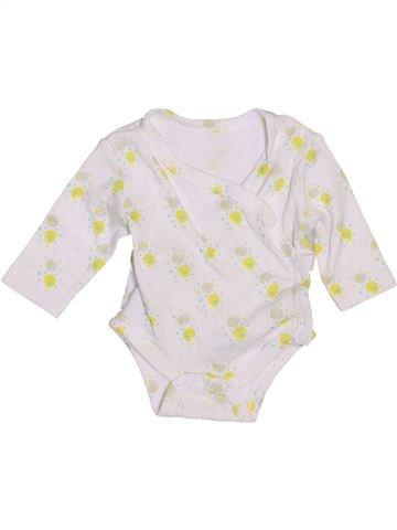 Camiseta de manga larga niña SANS MARQUE blanco 1 mes invierno #1459981_1