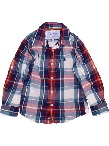 Camisa de manga larga niño JOULES violeta 3 años invierno #1460039_1