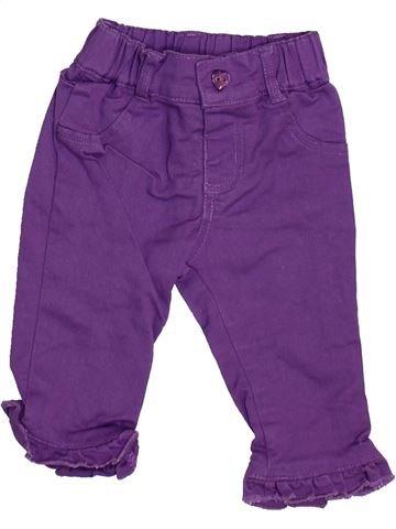 Jean fille BAMBINI violet 6 mois hiver #1460072_1
