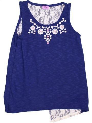 Camiseta sin mangas niña F&F azul 12 años verano #1460078_1