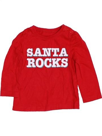 T-shirt manches longues garçon MOTHERCARE rouge 9 mois hiver #1460172_1