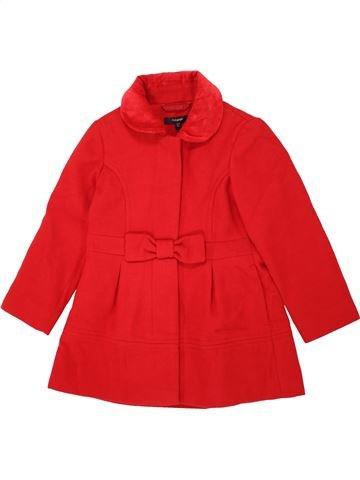 Abrigo niña MARKS & SPENCER rojo 5 años invierno #1460255_1