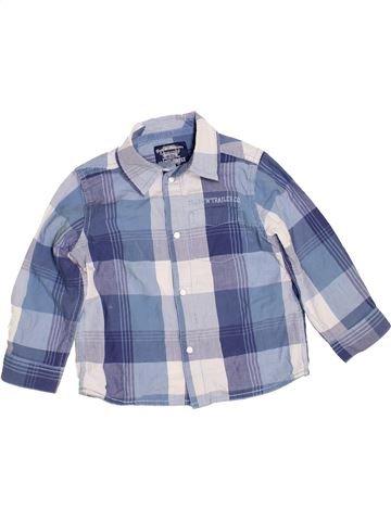 Camisa de manga larga niño MOTHERCARE gris 3 años invierno #1460361_1