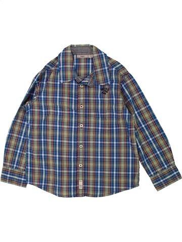 Camisa de manga larga niño MEXX azul 4 años invierno #1460543_1
