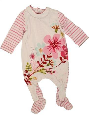 Pyjama 1 pièce fille CATIMINI violet 12 mois été #1460782_1