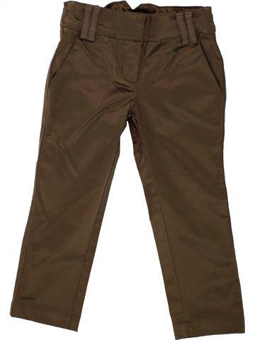 Pantalón niña LILI GAUFRETTE marrón 2 años invierno #1461343_1