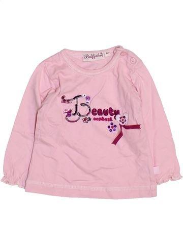 T-shirt manches longues fille BAKKABOE rose 3 mois hiver #1461451_1