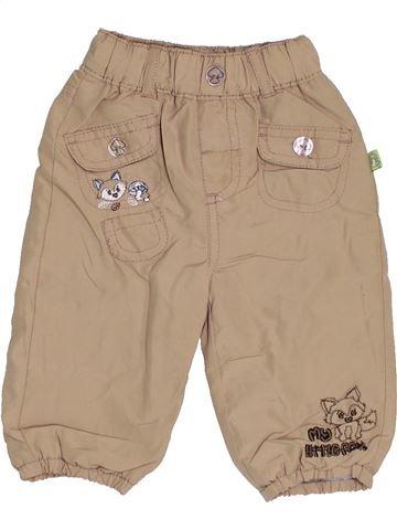 Pantalon fille ERGEE marron 6 mois hiver #1461972_1