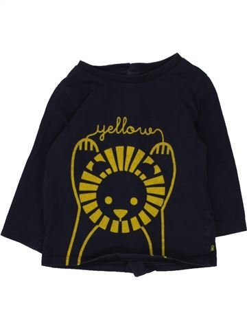 Camiseta de manga larga niño OBAIBI negro 6 meses invierno #1462020_1