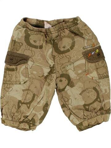 Pantalon garçon LES BEBES SONT COMME ÇA marron 3 mois hiver #1462122_1