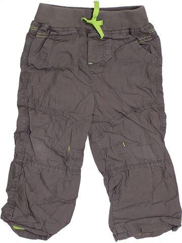 Pantalon garçon TOPOLINO gris 2 ans hiver #1462418_1