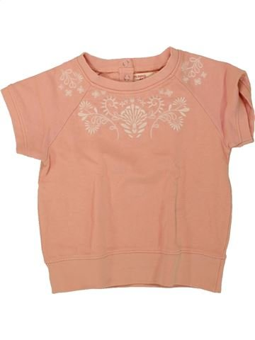 Sweat fille DPAM rose 3 ans hiver #1462616_1