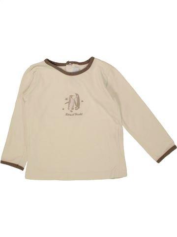 Camiseta de manga larga niño TARTINE ET CHOCOLAT beige 3 años invierno #1464060_1