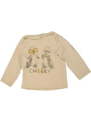 T-shirt manches longues garçon DISNEY blanc 2 ans hiver #1464127_1