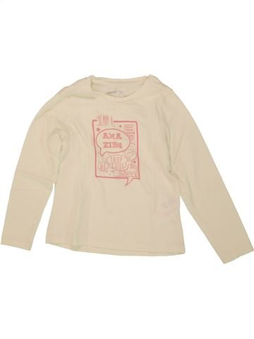 T-shirt manches longues fille ORCHESTRA beige 5 ans hiver #1464219_1
