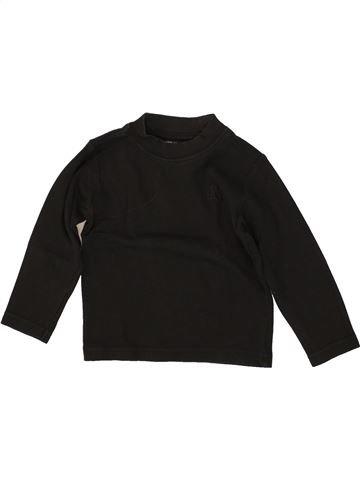 T-shirt manches longues garçon ORCHESTRA noir 3 ans hiver #1464241_1