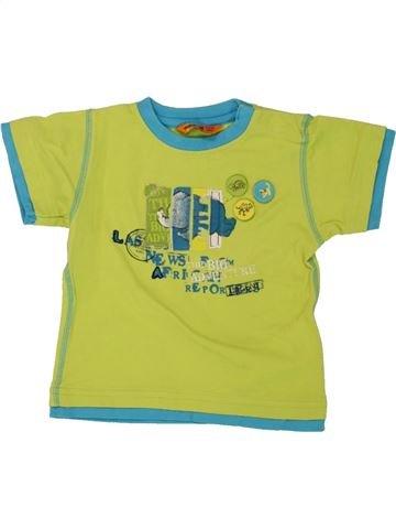 Camiseta de manga corta niño MAYORAL verde 9 meses verano #1464292_1