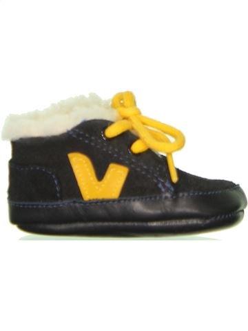 Zapatos bebe niño VEJA blanco 17 invierno #1464520_1