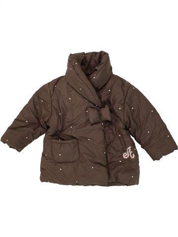 Abrigo niña ABSORBA marrón 12 meses invierno #1464661_1
