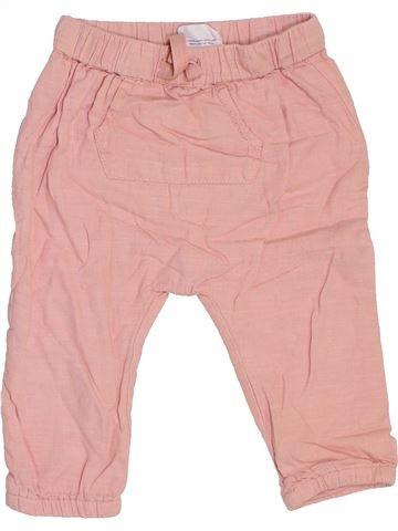 Pantalon fille TOPOMINI rose 18 mois hiver #1464921_1