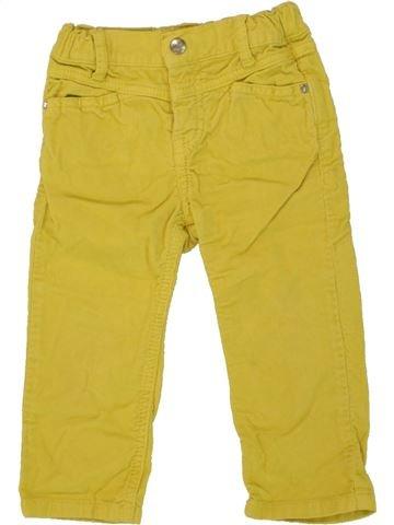 Pantalón niña P'TIT FILOU verde 18 meses invierno #1465262_1