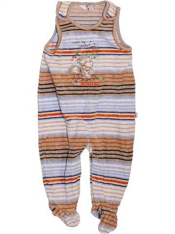 Pyjama 1 pièce garçon KANZ blanc 6 mois hiver #1466143_1