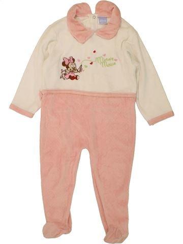 Pyjama 1 pièce fille DISNEY rose 18 mois hiver #1466396_1
