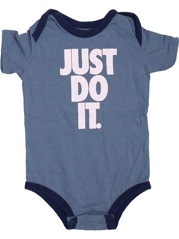 Camiseta de manga corta niño NIKE azul 9 meses verano #1466844_1