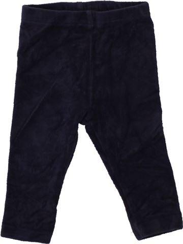 Pantalon fille TOPOMINI noir 6 mois hiver #1466888_1