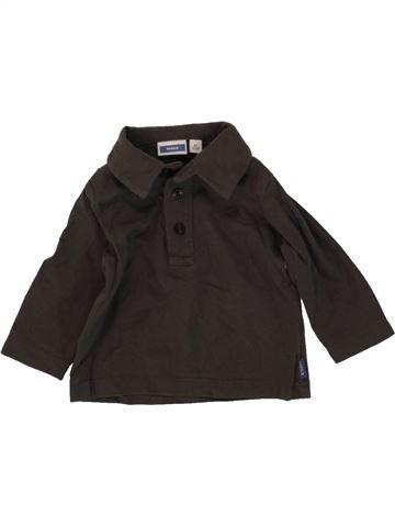 Camiseta de cuello alto niño MEXX marrón 6 meses invierno #1467176_1
