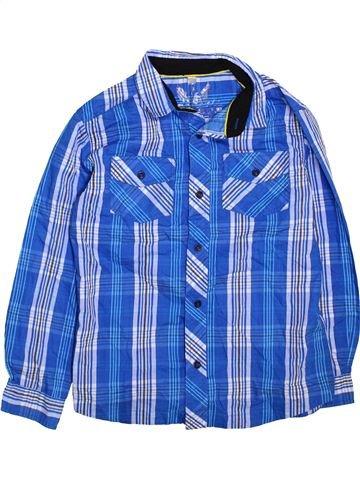 Chemise manches longues garçon URBAN 65 OUTLAWS bleu 11 ans hiver #1467595_1