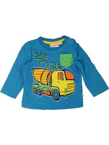 T-shirt manches longues garçon LIEGELIND bleu 6 mois hiver #1467723_1