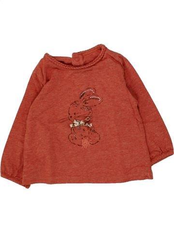 T-shirt manches longues fille SERGENT MAJOR orange 12 mois hiver #1468749_1