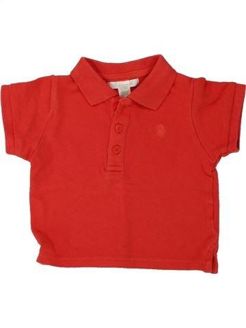 Polo de manga corta niño OBAIBI rojo 6 meses verano #1469504_1