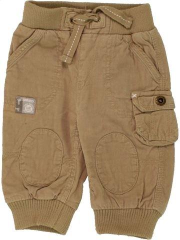 Pantalon garçon KIMBALOO marron 6 mois hiver #1469793_1
