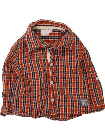 Camisa de manga larga niño JASPER CONRAN marrón 6 meses invierno #1470394_1