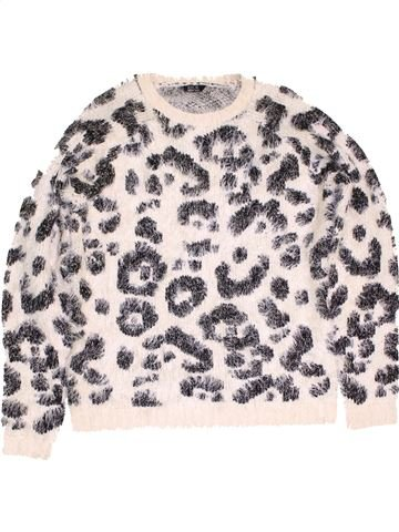 Pull fille KYLIE blanc 13 ans hiver #1471192_1