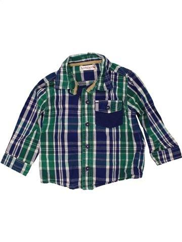 Camisa de manga larga niño LADYBIRD azul 12 meses invierno #1471480_1