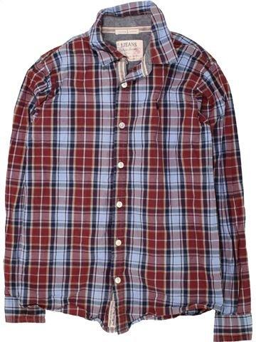 Chemise manches longues garçon JASPER CONRAN gris 13 ans hiver #1471859_1