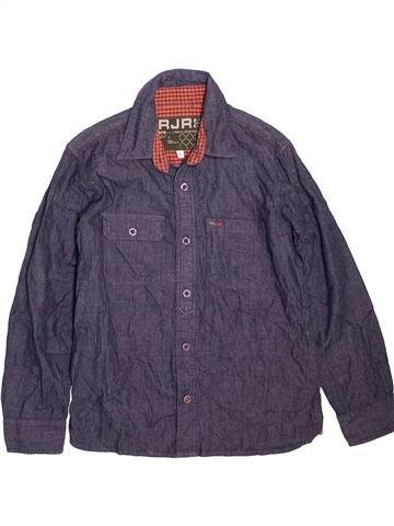 Chemise manches longues garçon JOHN ROCHA violet 9 ans hiver #1471862_1