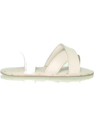 Zapatos bebe niña MOTHERCARE blanco 19 verano #1472097_1
