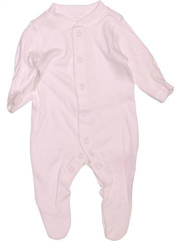 Pyjama 1 pièce unisexe MOTHERCARE blanc prématuré été #1472572_1